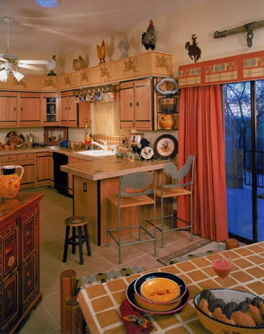 Territorial Desert Ranch Kitchen Interior Design